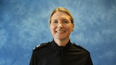 PC Amy Yeldham who is the new community engagement officer for Lowestoft, Beccles, and Bungay. Pictu