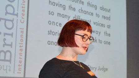 Kirsty Logan was the judge of this year's flash fiction section. Picture: Supplied.