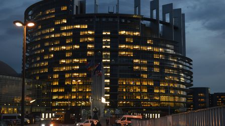 The European Parliament building in Strasbourg. Picture: Harry Taylor