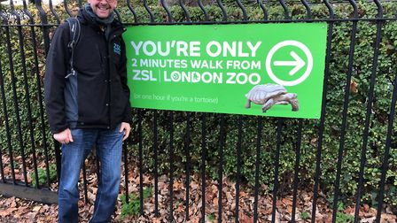 Alex Large walks for wildlife ZSL For People For Wildlife