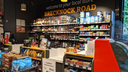The Nisa at 101 Brecknock Road. It used to be the Leighton Arms pub. Picture: Sam Volpe