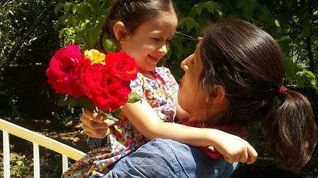 Nazanin Zaghari-Ratcliffe embraces daughter Gabriella, 4, after being released from Iranian prison o