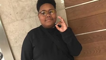 Tashaûn Aird, 15, died after he was allegedly stabbed in Hackney on Monday, May 6. Picture: Met Poli