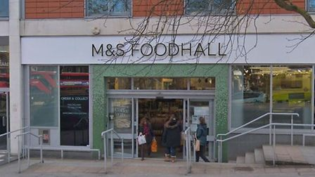 The M&S in Pond Street has reported losing thousands of pounds a week to thieves. Picture: Harry Tay