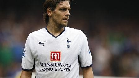 Middlesbrough manager Jonathan Woodgate while playing for Tottenham Hotspur. Picture: PA