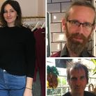 People in Stoke Newington gave their views on the election result: (clockwise from left) designer Se