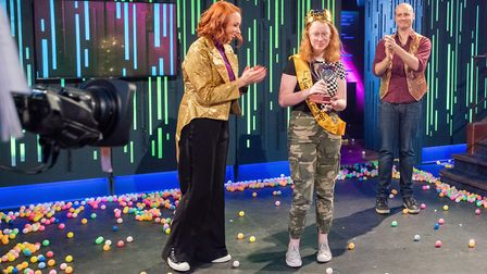 Abbie Meadowcroft in this year�s Royal Institution Christmas Lectures. Picture: Paul Wilkinson