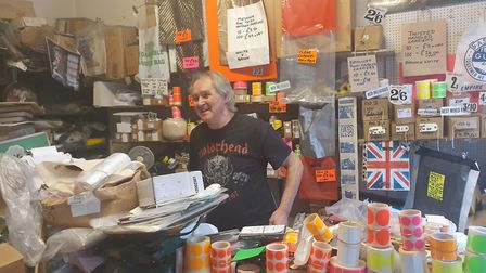 Paul started working in the shop when he left school after his father passed away. He loves his job