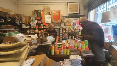Gardners has sold sundry goods on commercail street for 150 years. Picture: Holly Chant