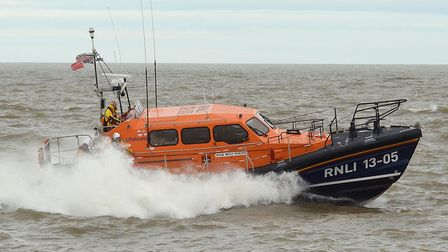 Lowestoft's RNLI lifeboat, Patsy Knight. Photo: Mick Howes.