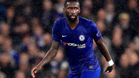 Chelsea's Antonio Rudiger was reportedly targeted with racist abuse against Tottenham. Picture: PA