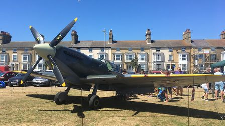 Thousands gathered in Lowestoft to celebrate Armed Forces Day. Picture: Thomas Chapman