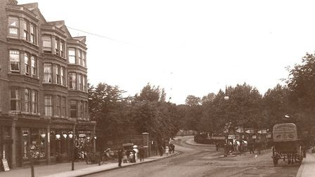 Can you remember when West Hampstead looked like this? Picture: Camden Local Studies and Archives Ce
