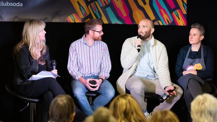 Panel talks are a key part of the Mindful Drinking Festival. Picture: Voist Ltd.