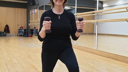 Ginny Greenwood MBE delivers pilates and dance classes for her business Exercise with Me. Picture: G