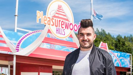 Ryan Holt, owner of Spark Live Pantomimes will be bringing Cinderella to the stage at Pleasurewood H