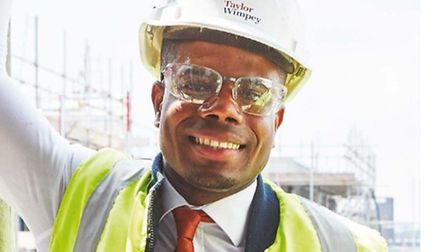 Jone Da Cruz worked his way up from apprentice to site manager at Olympic Park.