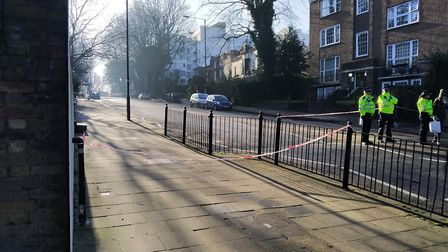 North Hill, where the incident reportedly began. Picture: Michael Boniface