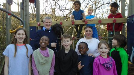 Inside Out Day at Highgate Primary. Picture: Highgate Primary