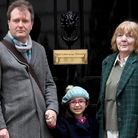 Richard Ratcliffe, the husband of Nazanin Zaghari-Ratcliffe, his daughter Gabriella Zaghari-Ratcliff