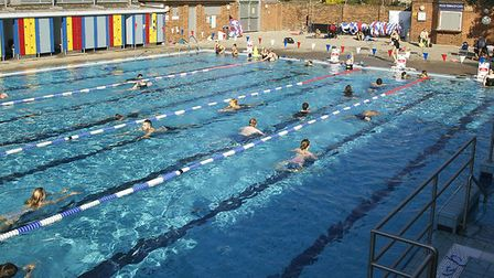 London Fields Lido. Picture: Richard Dawson/ Hackney Council