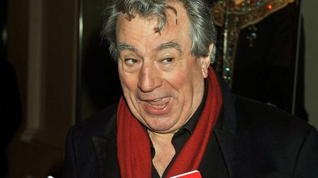 Terry Jones attending the Anna Nicole Opera, at the Royal Opera House in Covent Garden. Picture: Joh