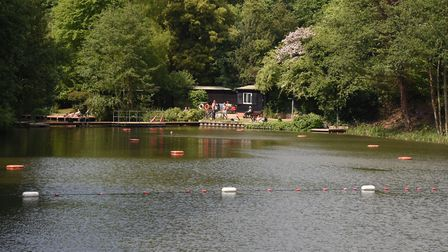 The Mixed Bathing Pond (no.3) on Hampstead Heath. Picture: KEN MEARS