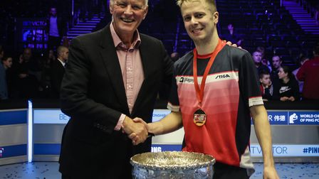 Andrew Baggaley is chasing another World Championship of Ping Pong title (pic Matchroom Multisport)
