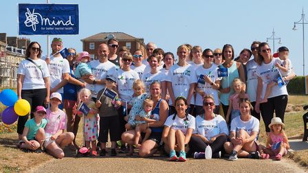 A group ran in aid of mental health charity Mind, in memory of Ellen Armstrong. Picture: