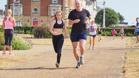 Hundreds of people turned out for the most recent parkrun Picture: Gary