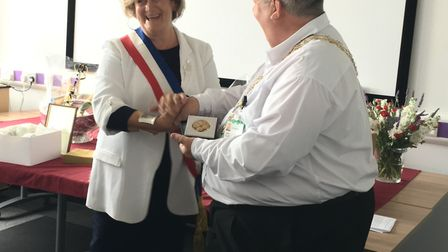 Lowestoft has welcomed visitors from Plaisir to mark 40 years since the towns were twinned. Picture: