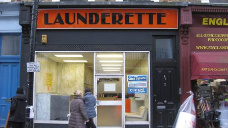 The launderette, saved for now, is in 49 England's Lane and attracts customers from as far as Golder