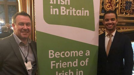 Cllr Adam Jogee is campaigning to fly the Irish flag from Haringey Civic Centre. Picture: Adam Jogee