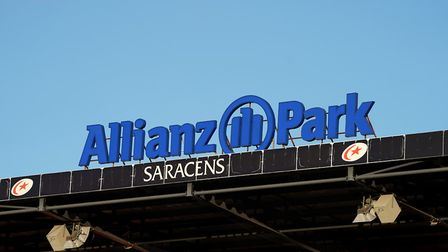 A general view of Allianz Park