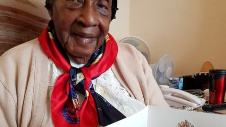 Iris Roper received a letter from the Queen last year to commemorate her 100th birthday.