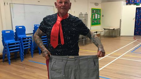 Mark Smith, who has lost 5st in 22 weeks. Picture: Claire Bond.