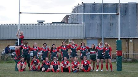 The Haringy Rhinos Ladies team. Picture: Gallagher