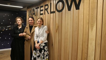 The stars of TV series The Crown opened Waterlow Hall with South Hampstead High Schools' headteacher