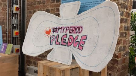 Period poverty group Tricky Period launched at Camden's Vagina Museum. Picture: Sam Volpe