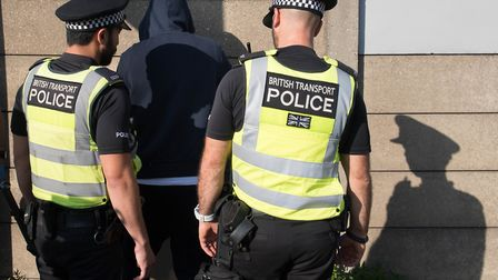 Police have doubled down on the use of stop and search in London. Picture: Stefan Rousseau/PA Archiv