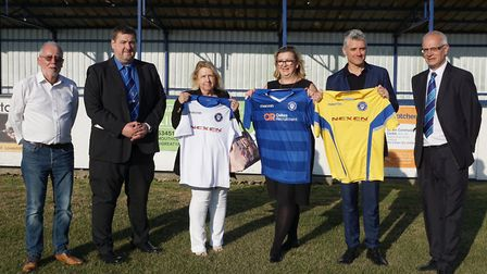 Lowestoft Town FC welcome Oakes Recruitment as the club's official main partner, with Nexen Lift Tru