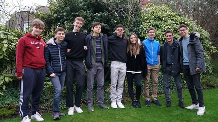 Sixth-form students from UCS Hampstead have taken on the role of teachers around mental health. Pict