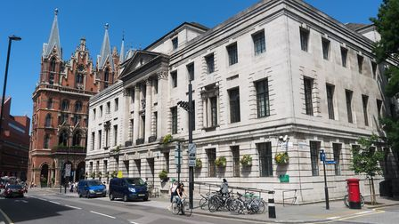Camden Town Hall has been closed since August 2018. Picture: Siorna Ashby