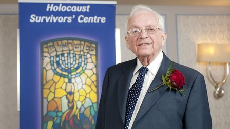 Freddie Knoller, 98, joined the French Resistance before he was detained in Auschwitz. Picture: Blak