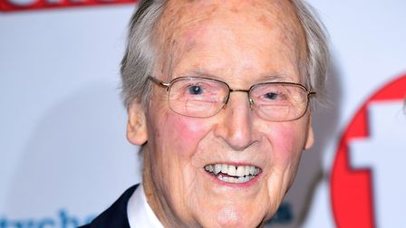Just a Minute host Nicholas Parsons has died aged 96 after a short illness. Picture: Ian West/PA Wir