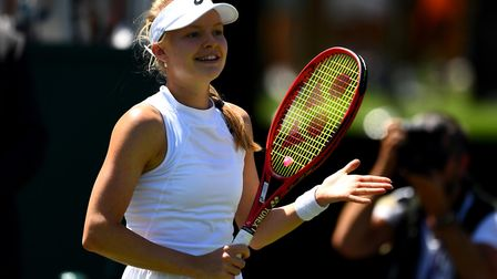 Hampstead tennis player Harriet Dart. Picture: PA Wire