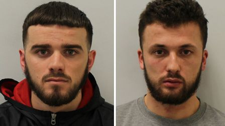 Azen Dajci and Ardi Sheta were both also jailed over the raid on a Mill Hill cannabis factory. Pictu