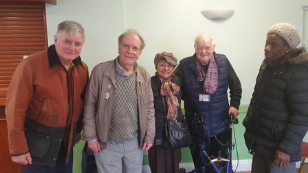 Hackney Pensioners Convention usually meets the first Monday of every month at 1:30 at Our Lady & St
