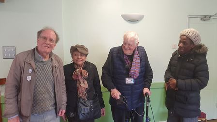 Hackney Pensioner's convention members. Picture: Holly Chant