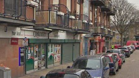 Costcutter in Rushmore Road where the shooting took place. Picture: Google Street View